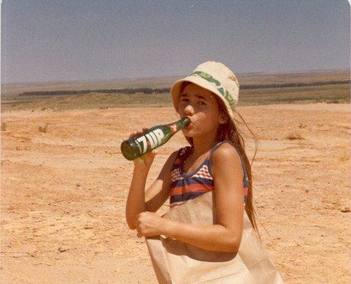 At 12, Michele goes fossil hunting in the Kansas flatlands. (Chapter 7 - 1970s)