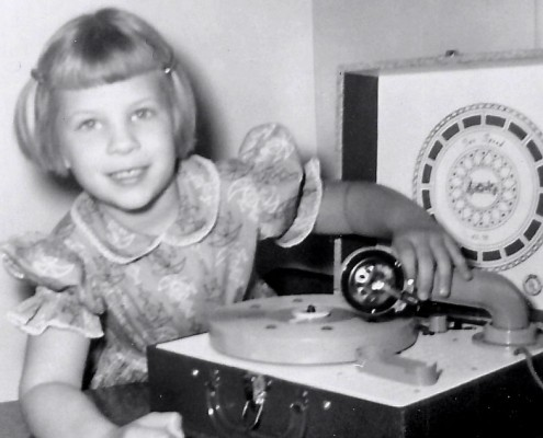 In the 1960s, a Young Girl Gets Her First Record Player! (Chapter 6)